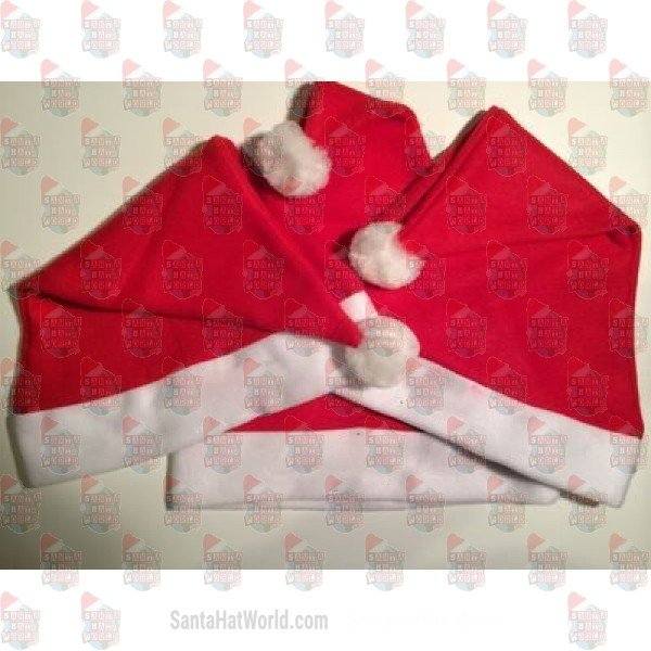 Fleece Santa Hat - Santa Hat World c88a49f84a9