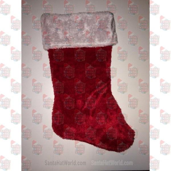 Red Plush Stocking