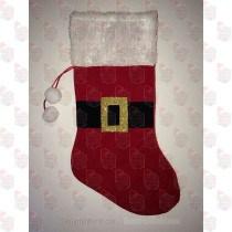 Santa Belt Stocking